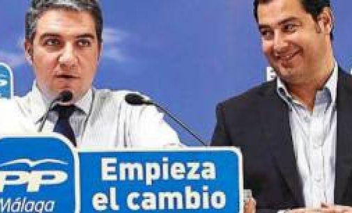 Así reparte Bendodo a los medios de comunicación en Málaga