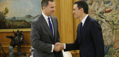 Felipe VI y Pedro Sanchez web