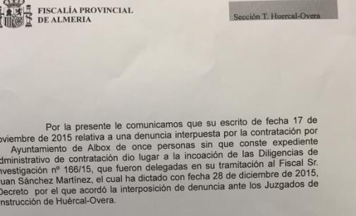 Fiscalía investiga posibles enchufes en Albox