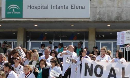 El TSJA paraliza la fusión hospitalaria en Huelva