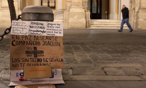 Indignación en Sevilla por el segundo 'sin techo' muerto en 2016