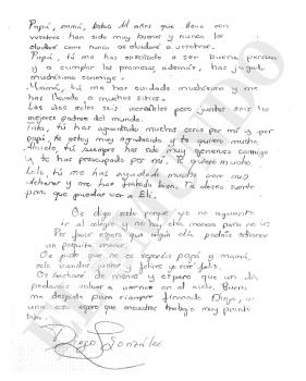 carta del niño diego glez el mundo