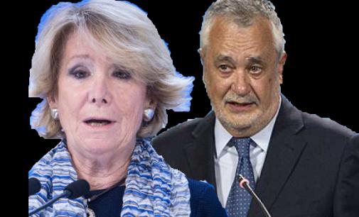 Aguirre, Griñán y las responsabilidades políticas