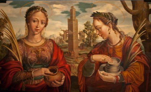 Santas Justa y Rufina contra la Semana Santa