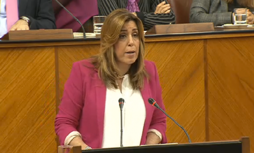 Susana Díaz montó su propio debate