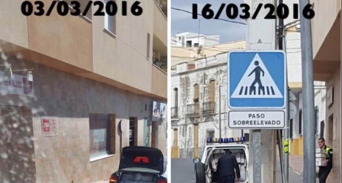 Archivos municipales de Albox a la sede del PSOE
