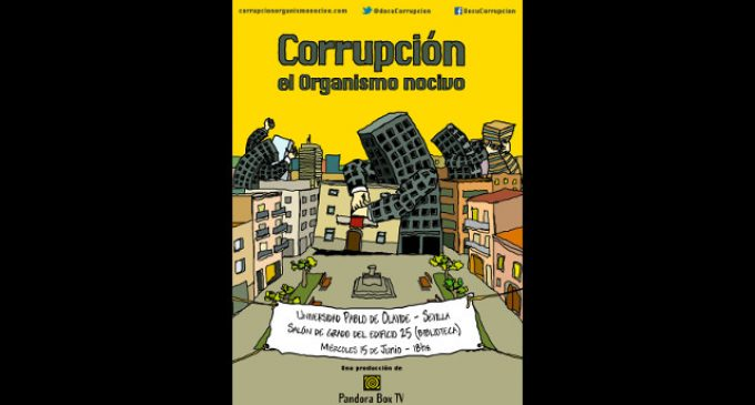 """La Olavide proyecta el documental """"Corrupción, el organismo nocivo"""""""