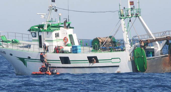 Portugal captura un pesquero de Huelva por pesca ilegal