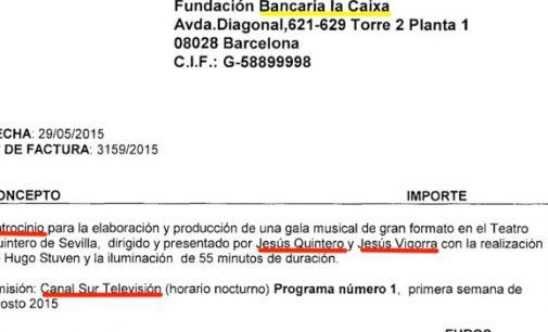 La Caixa pagó 169.000 € a Ausbanc para publicidad encubierta en Canal Sur