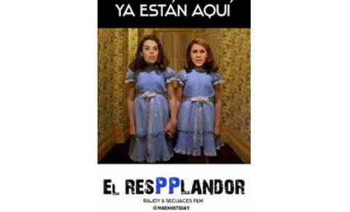 """Soraya y Cospedal como las niñas de """"El resplandor"""""""
