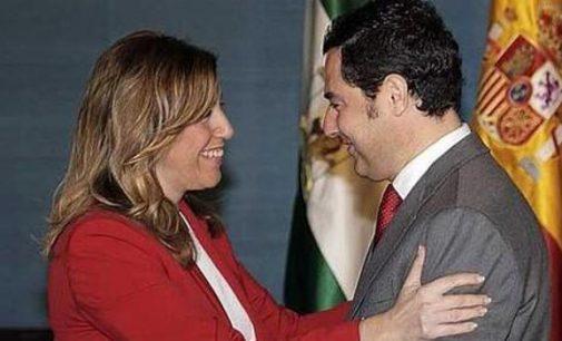 Susana y Juanma, los dioses riegan Andalucía