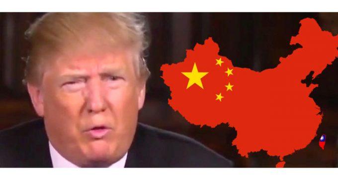 Trump de la China