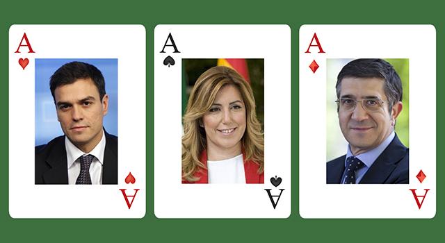 Trio poker (Pedro-Susana-Patxi)