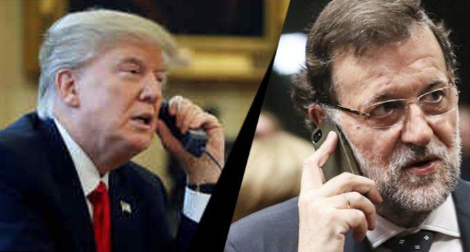 Trump-Rajoy : diálogo para besugos