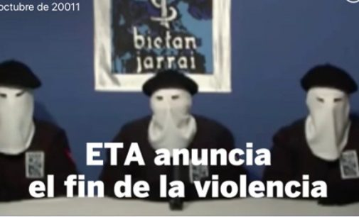 El cuento del desarme de ETA