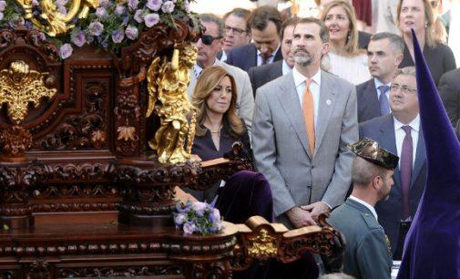 Susana, Pedro y la Semana Santa de Sevilla