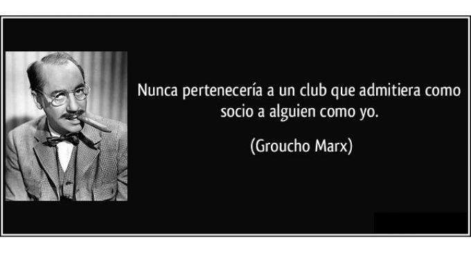 Ciudadanos y el marxismo grouchista