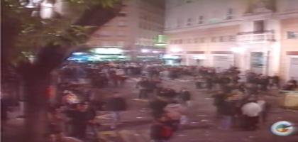 madrugá2000_incidentes_Plaza_duque_sevilla