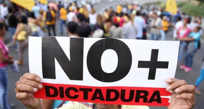 Yo defiendo la dictadura de Venezuela