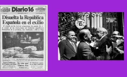 Y la Segunda República se disolvió ¡Viva la Tercera!