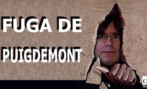 La fuga de Puigdemont