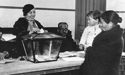 El voto de la mujer en la Segunda República