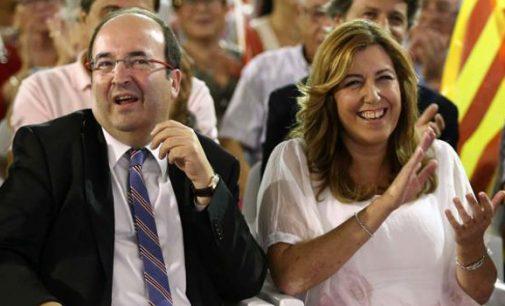 El veto del PSC a Susana Díaz beneficiará a Arrimadas y Cs